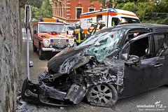 Verkehrsunfall Amselberg Sonnenberg 12.06.12