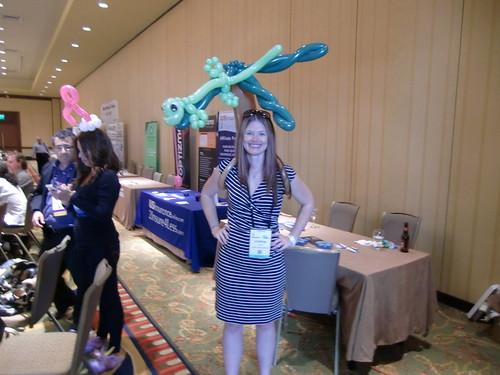 Iguana Head balloon on FeedFront designer Lindsay Gattis
