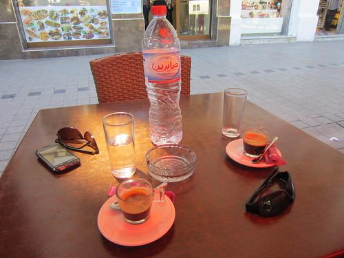 coffee break in tunis