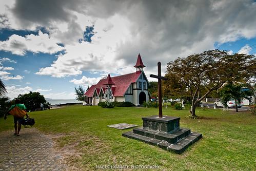 Postcard church