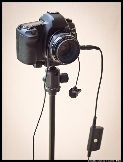 Canon 5D MarkII video setup