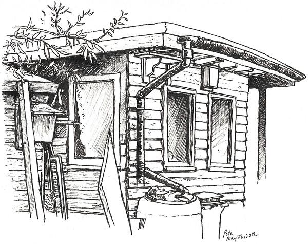 dawn's shed