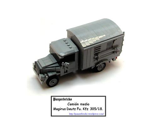 Camión Magirus Fu. Kfz305/18 de Panzerbricks