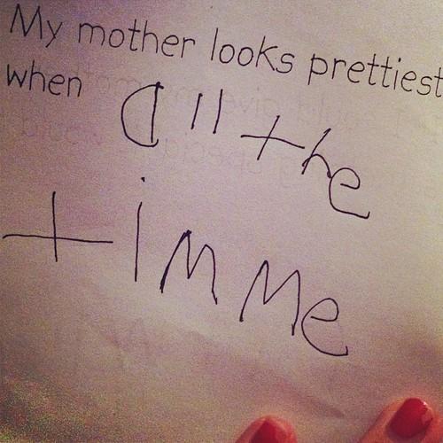 Smartest kid. Ever. #mothersday