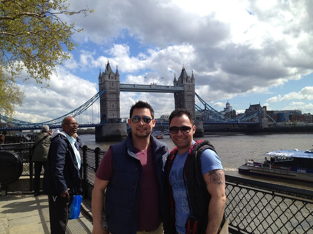 Demetrius and Tristen, Tower Bridge