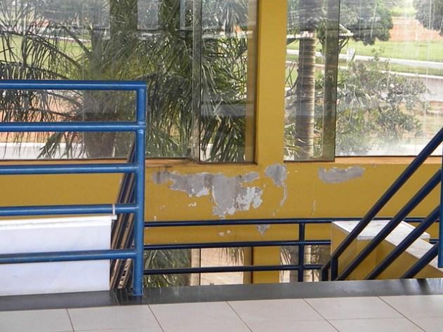 O Saguão principal do Brasília Hi Hostel