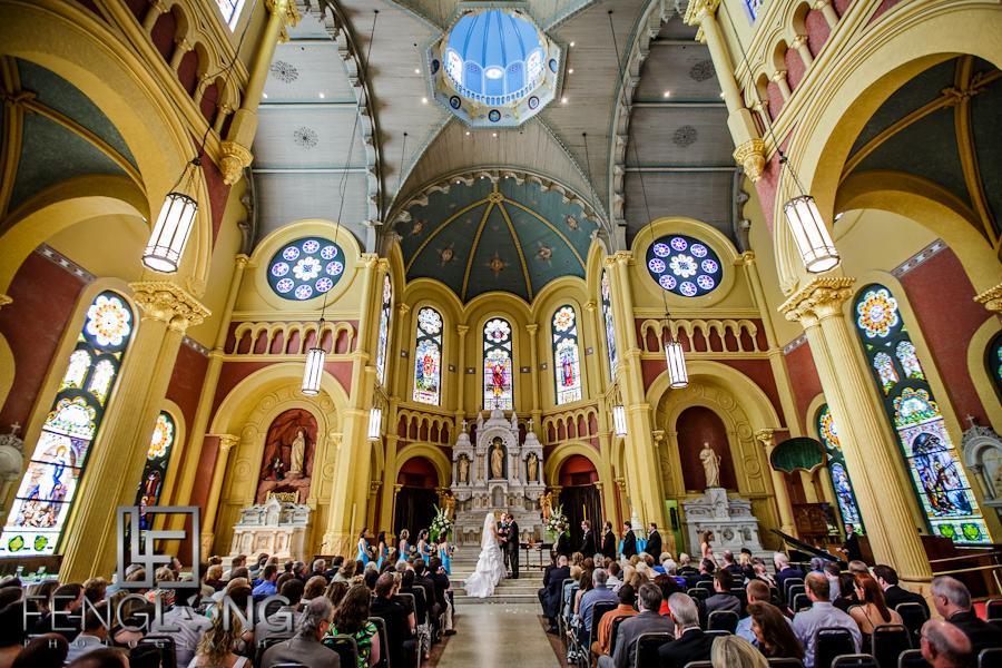 Church Interior | Sarah & Alex's Wedding | Sacred Heart Cultural Center | Augusta Destination Wedding Photographer