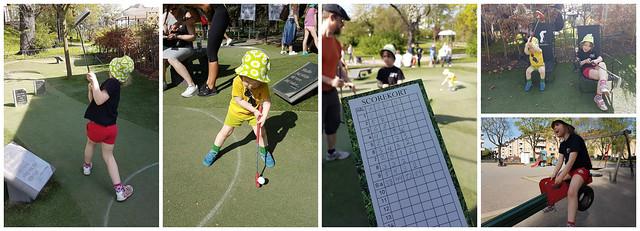 Golfbaren och Kaninparken