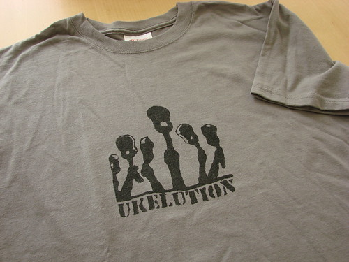 Ukelution: The Ukelele Revotion T-shirt