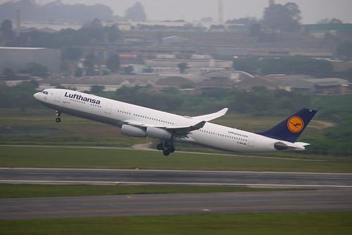 Lufthansa | Airbus A340-300 @ SBGR
