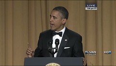 President Obama at the 2012 White House Correspondents' Dinner