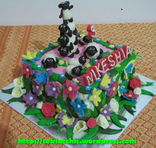 Cake Shaun the Sheep