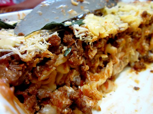 Melissa's baked pasta - inside
