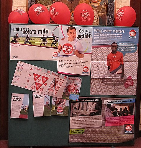 Sport Relief 2012