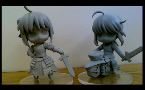 Nendoroid Petit Saber Lily and Saber from Fate/zero