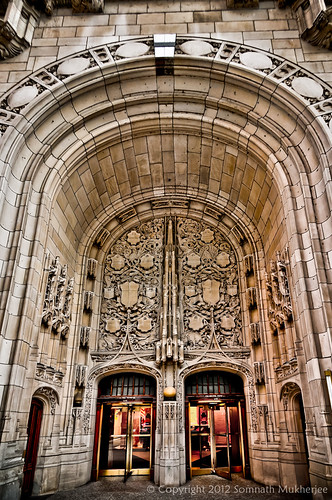 The Portal | Tribune Tower, Chicago | February 2012 by Somnath Mukherjee Photoghaphy