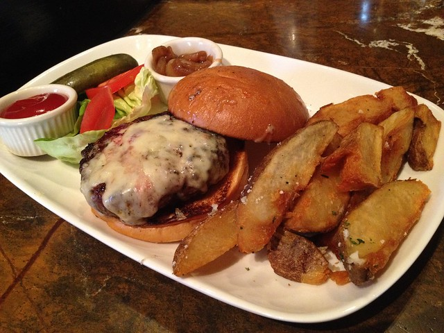 Olives burger - Todd English's Olives