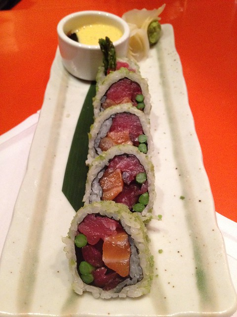 Green Envy roll - SUSHISAMBA