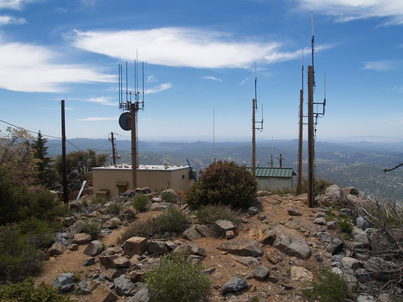 Radio Antennae on the Cuyamaca Peak Summit