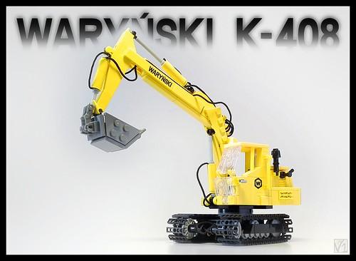 Koparka Waryński K-408 by V1
