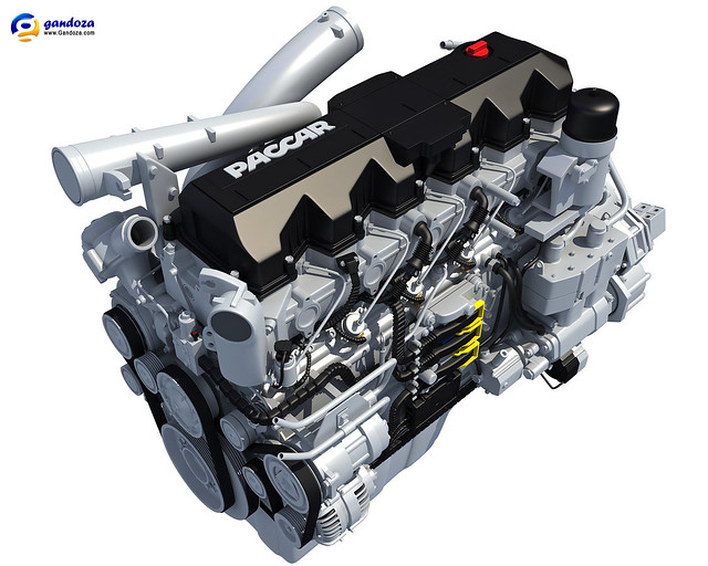 Paccar Engine For Daf Peterbilt And Kenworth Trucks