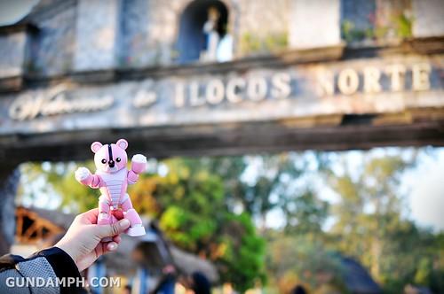 Pink Bearguy at ilocos norte arch