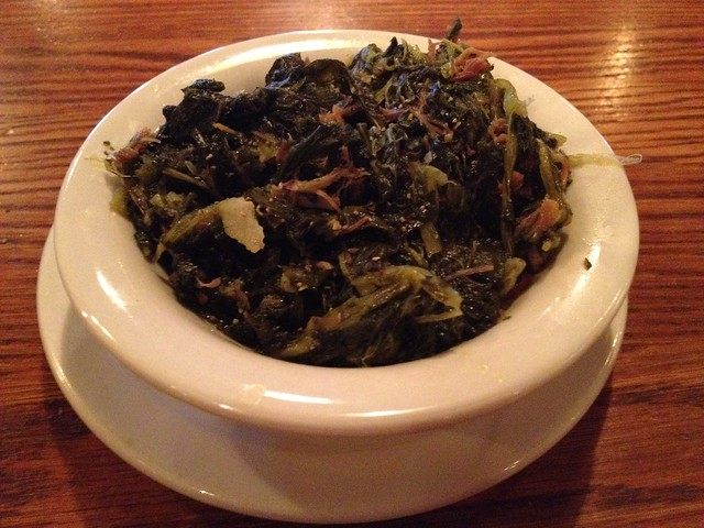 Turnip greens - Cracker Barrel