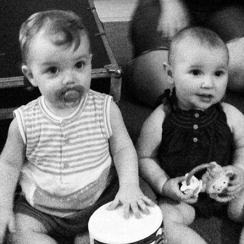 Babies, O and K.