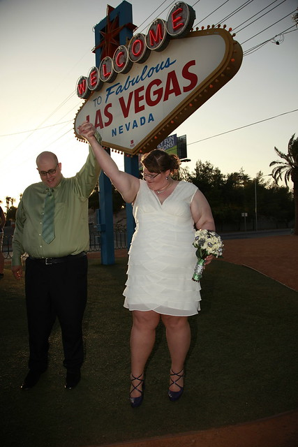 Wedding Photos on the Las Vegas Strip