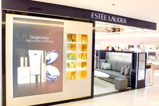 Estee Lauder Beauty Counter at Rustan's Shangri-la Mall