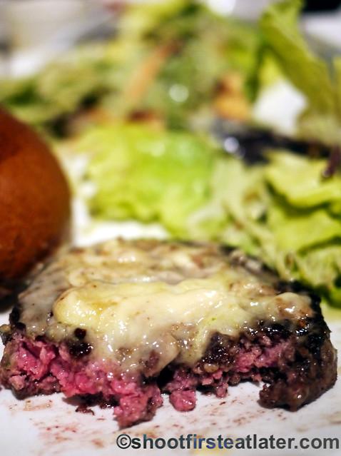 Umami Burger- truffle burger $12-002