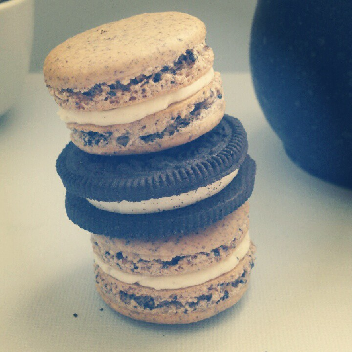 Cookies N Cream Macarons 2