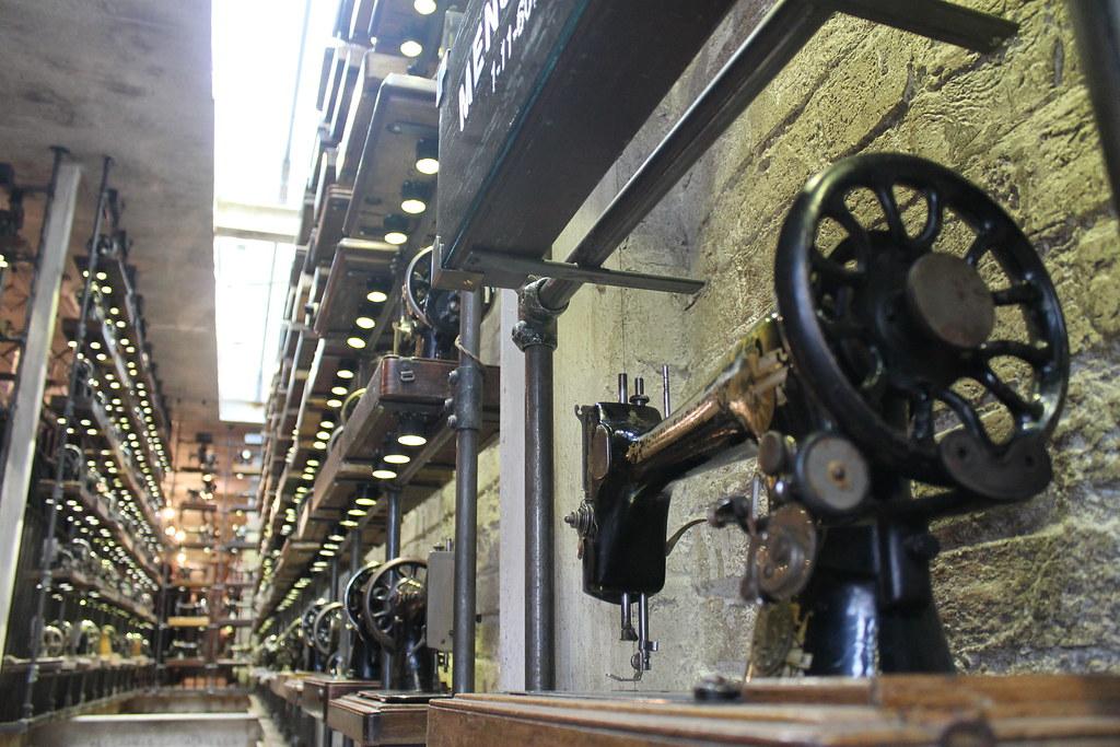 Máquinas de cose en Portobello Road Market