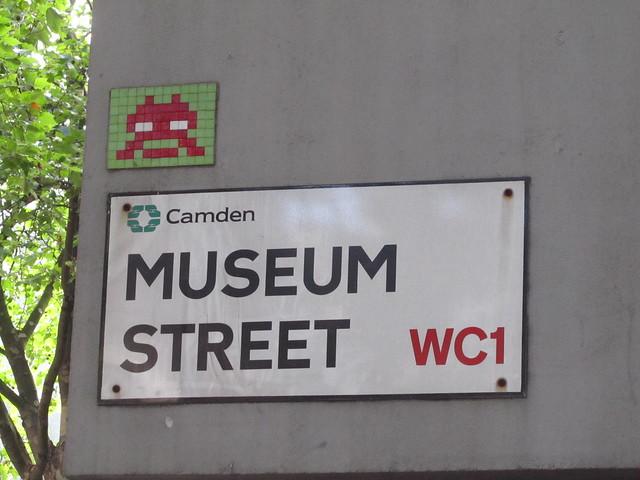 Invader, Museum Street
