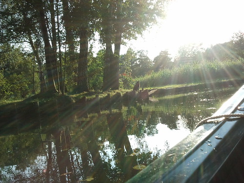 In the Spreewald Biosphere Reserve, Germany