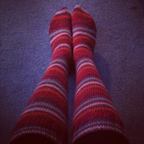 More #handknitted #homemade #woolsocks