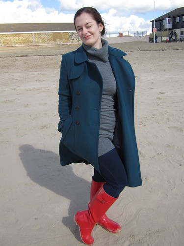 The red wellies make a comeback by petitechefjules