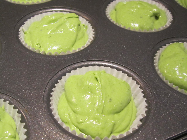 Double Matcha Cupcakes