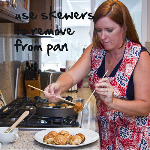 remove from pan