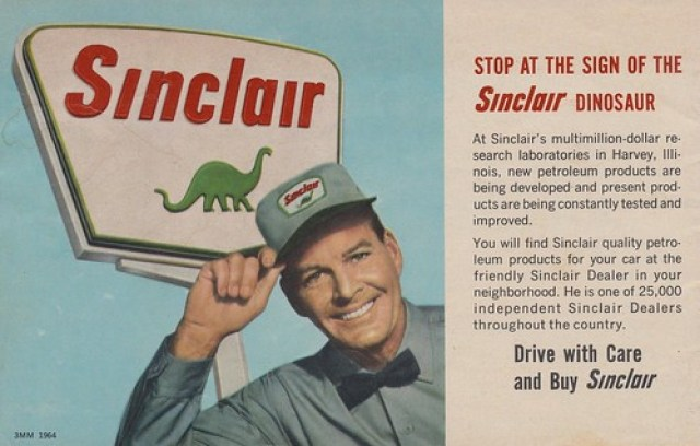 Stop at the Sign of the Sinclair Dinosaur