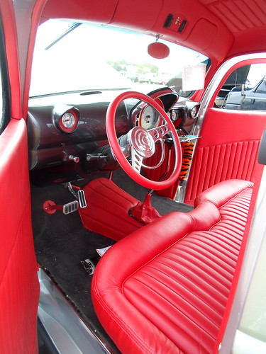 1944 Chevrolet pickup truck interior