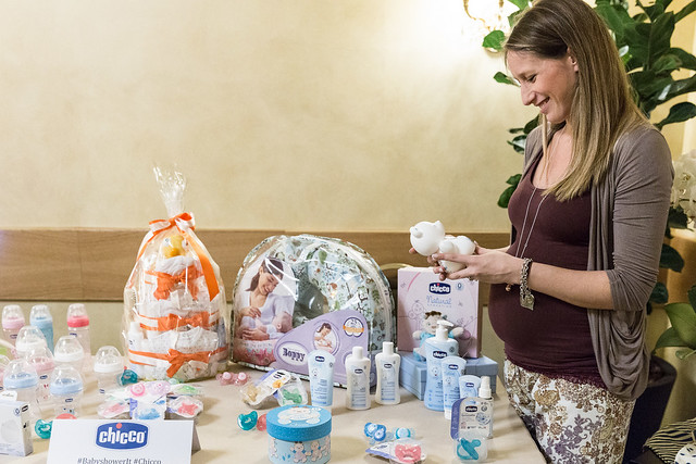 Giada di Mammachevita al Baby Shower Party