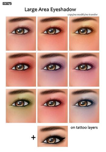 Large Area Eyeshadow
