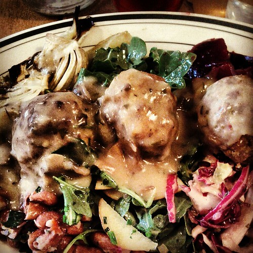 Kitchen sink at Meatball Shop
