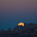 Eclipse Moon Set Under Belt of Venus