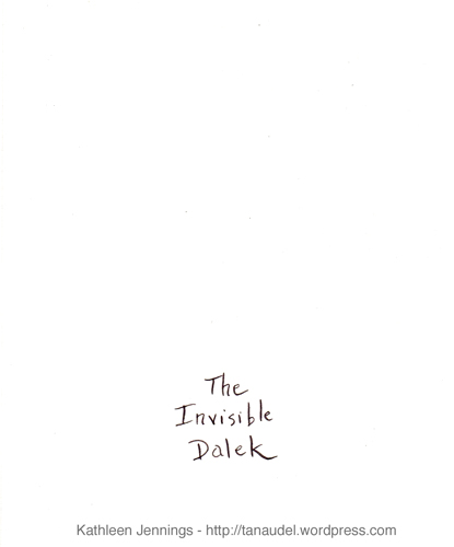 The Invisible Dalek