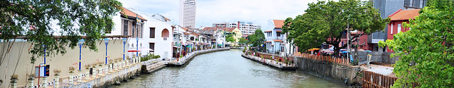 Sungai Melaka Panorama