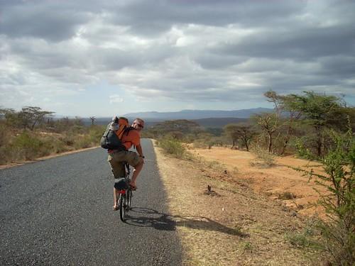 Travels by folding bike