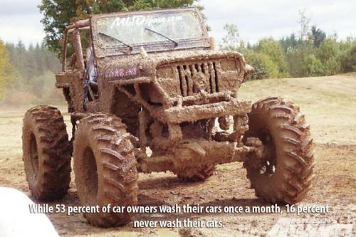 Muddy-Jeep by DeliveryMaxx