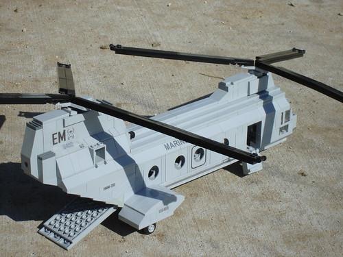 CH-46 Sea Knight (4) by Brian's Bricks